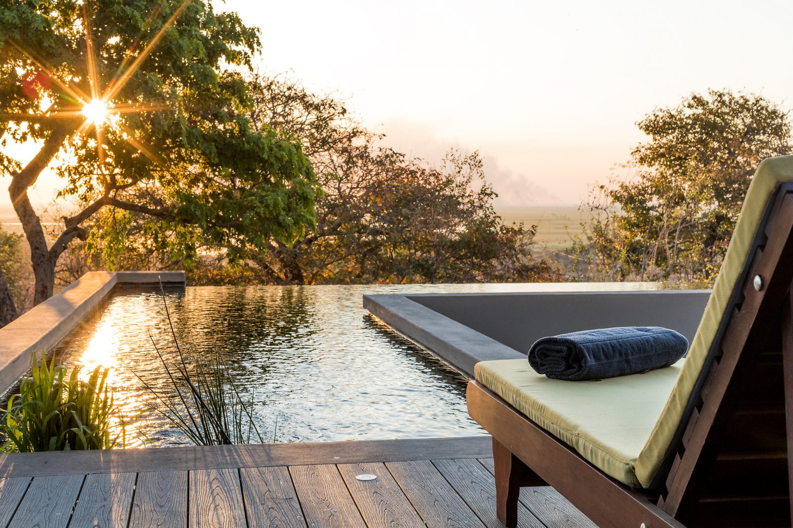 Chobe Pangolin hotel swimming pool
