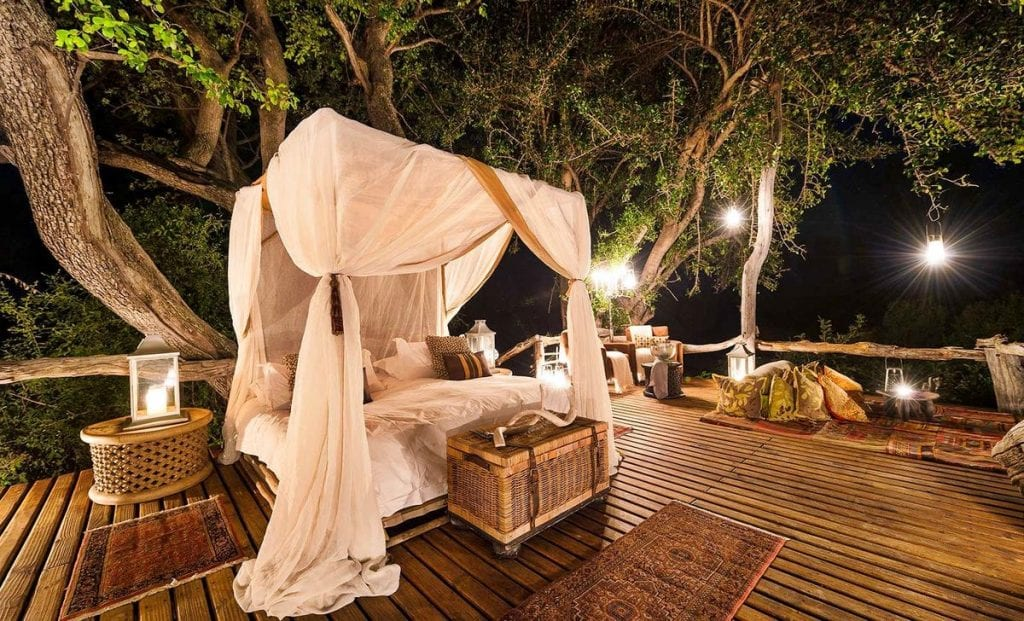 The sleep out at Jao camp is one of the best star beds in Botswana
